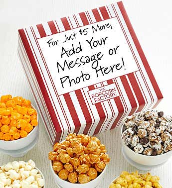 Packed With Pop™  Personalized Gift Box